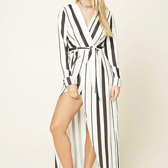 adde235a9af NWT Selfie Leslie jumpsuit dress striped playsuit
